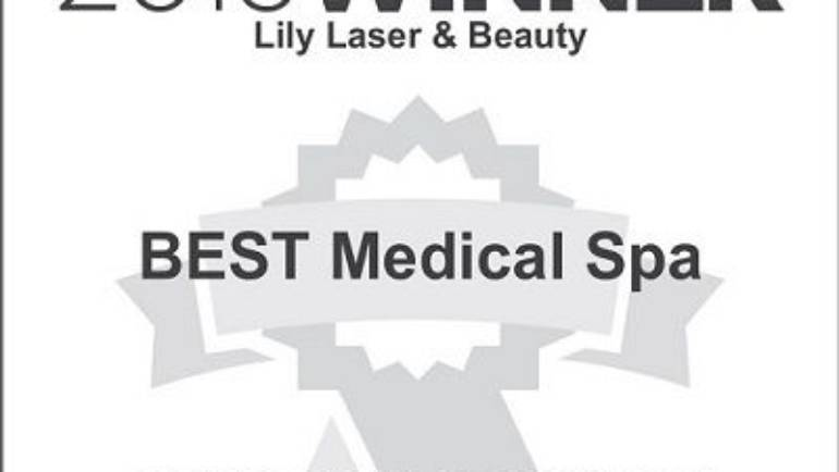 LILY LASER AND BEAUTY IS THE BEST MEDICAL SPA FOR 2016!